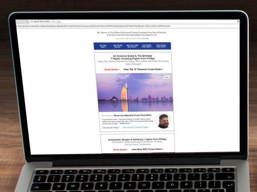 HTML Cruise.co.uk Consultant Eblast